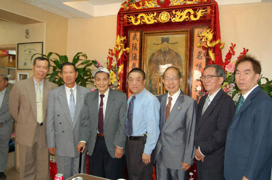 Grand Elder Wai Hing with group