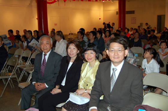 Grand Elder Peter Yee, Honorary General Counsel Ms. Lai Sun Yee, Suk Wah Mah, Attorney At Law and Advisor Andy Yu