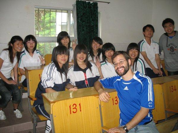 P.C. Lau                     Students Visits