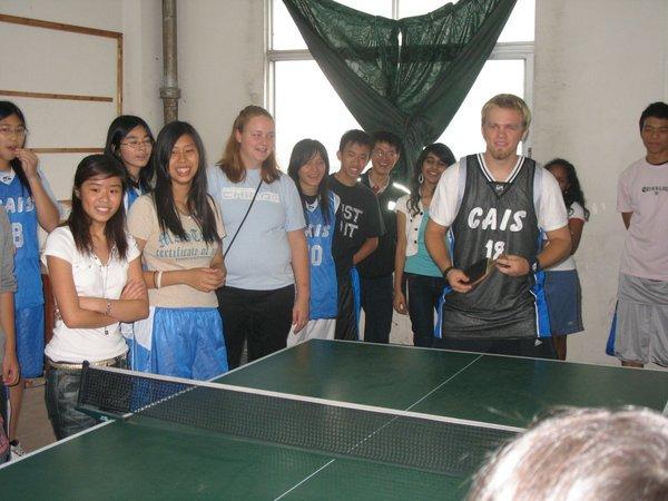 乒乓球比賽