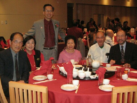 Other YFT members attending the Mah's Banquet