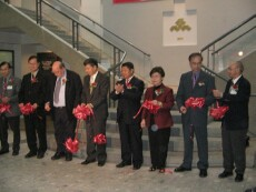 Cutting Ribbons Ceremony