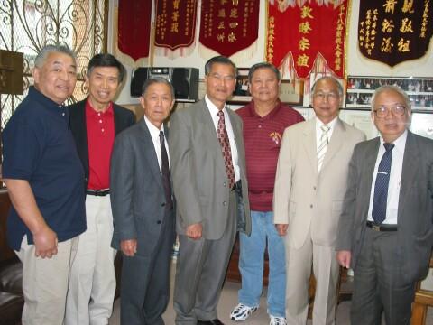 Phoenix delegation in SFHQ 2007