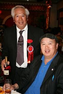 Sacramento YFT President Stanley with                     Dr. David's Dad