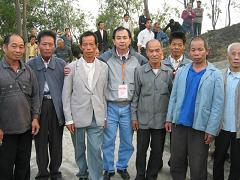 image of Frank with fellow villagers