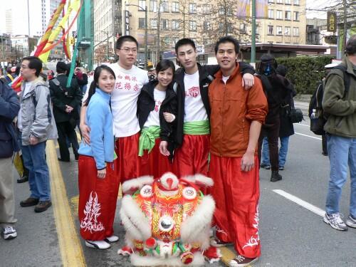 Vancouver YFT Dancing Lions Team