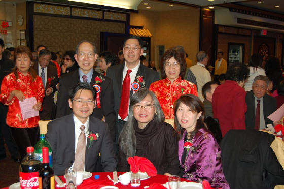 Kenneth, Frank,                 Elaine, (front row) Jimmy Yan, June Jee, Lai Sun