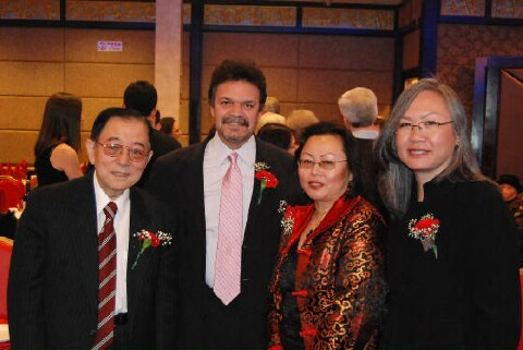 left to rt, Edward Ma, Assemblyman Felix