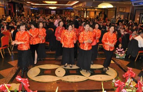 NY YFT spring                 banquet women's Line dance