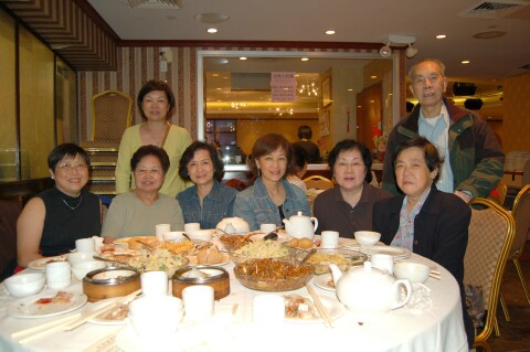 Lunch with the NY YFT group