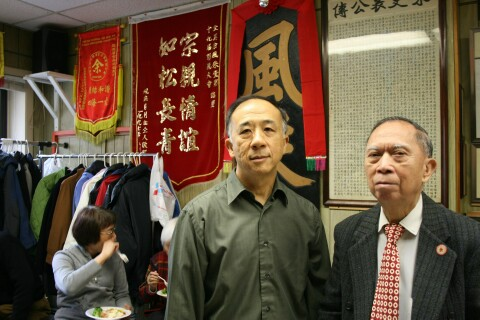 From left                   Paul Yee, Henry Yee