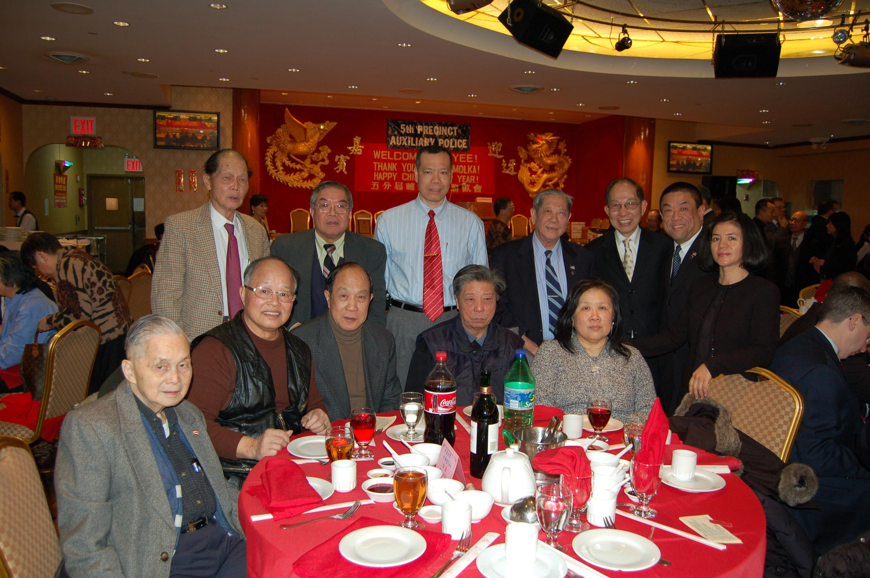 Gin & wife                 Miriam with New York YFT group