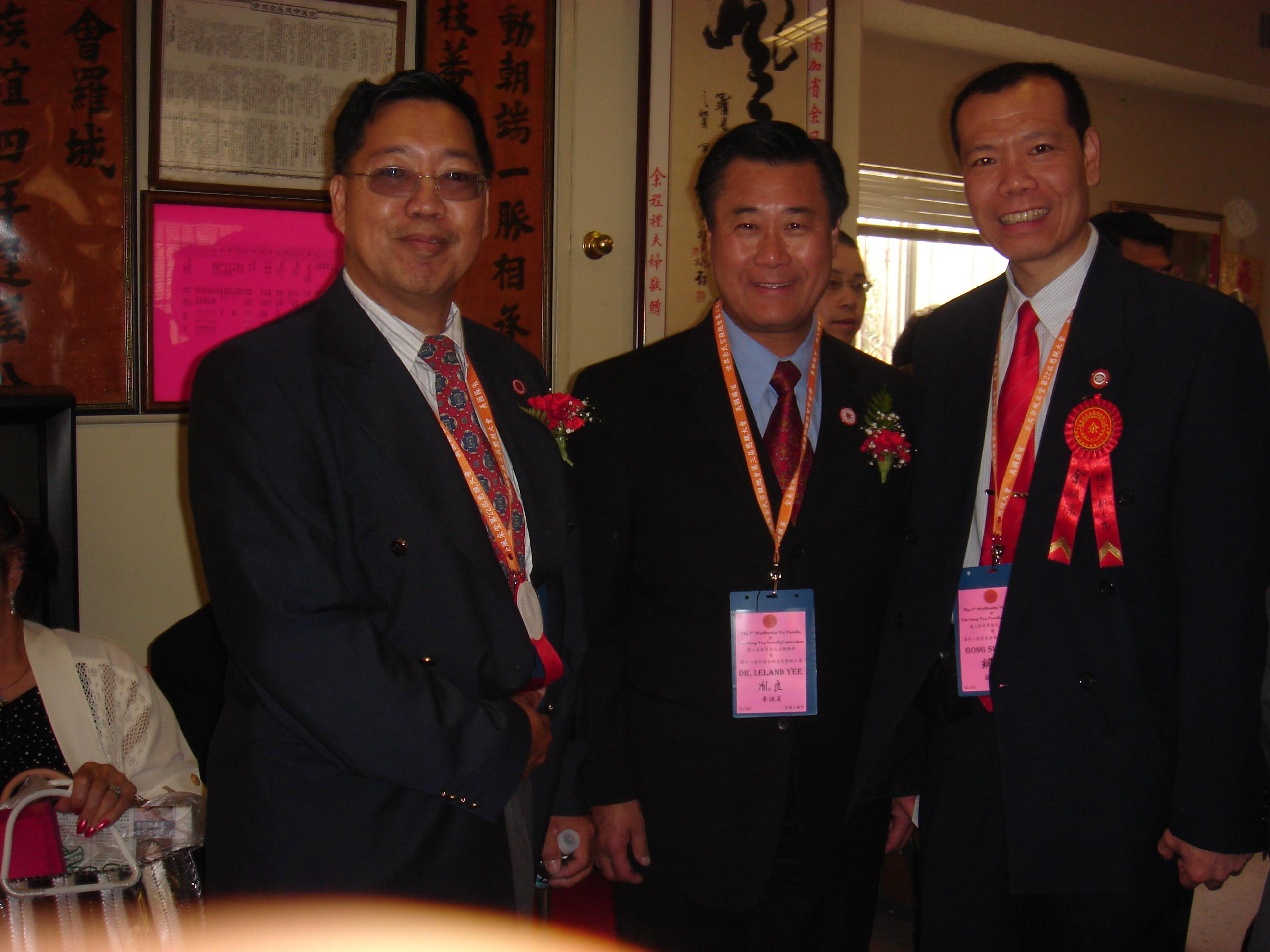 With Leland