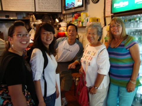 (L-R) Cortney Yee, Krystin Yee, Rupert