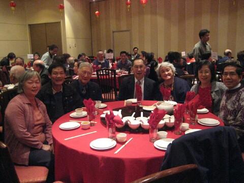 Seattle delegates attending Vancouver Spring Banquet