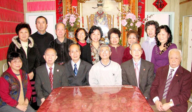 Newly Elected Officers 仇錦光攝影/大紀元